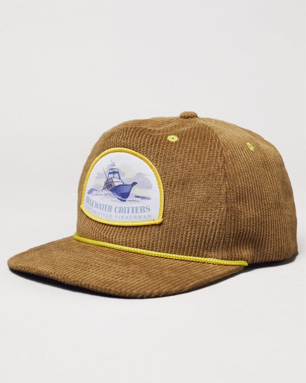 Just Another Fisherman Gin Palace Cap in Brown