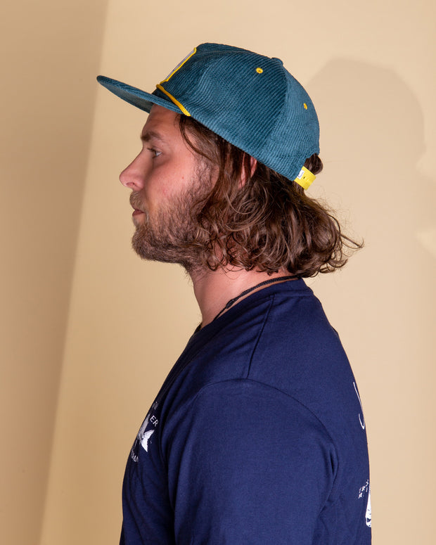 Just Another Fisherman Gin Palace Cap in Teal
