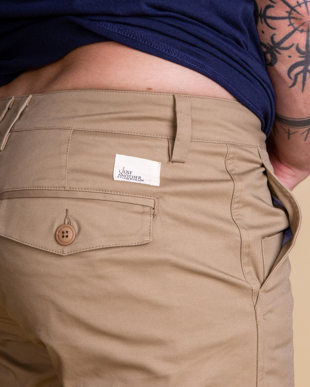 Just Another Fisherman Port Shorts in Tan