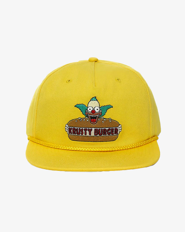 Vans - Vans X Simpsons Krusty Snapback Cap - Yellow