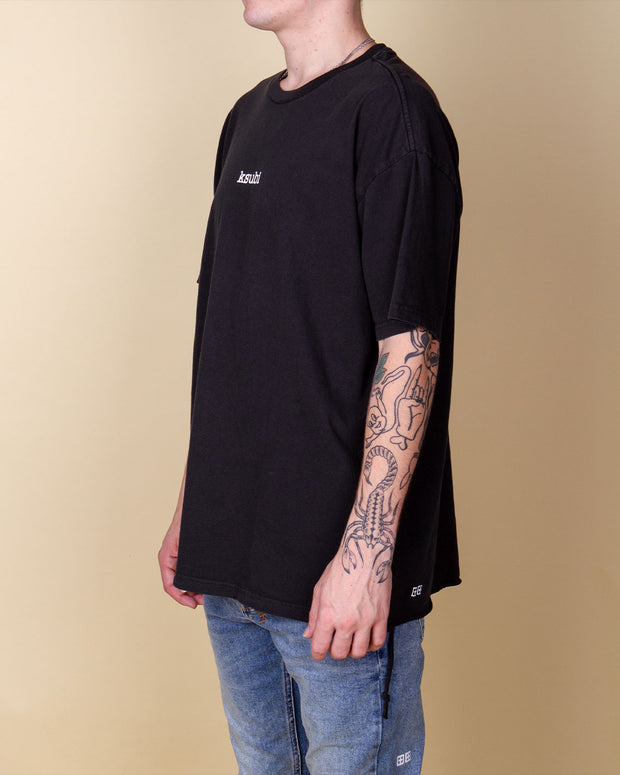Ksubi - Bright Dream Biggie Tee - Jet Black