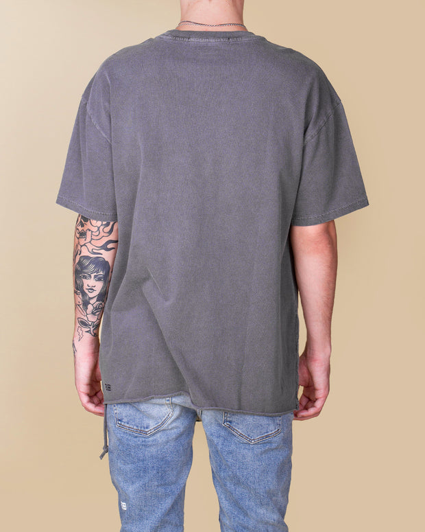Ksubi - Liberated Biggie Tee - Washed Grey