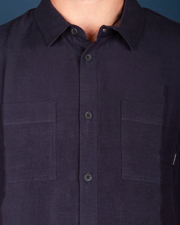 RPM - Linen Shirt - Ink