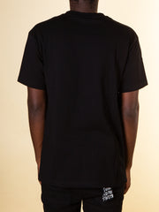 After Hours Clothing Arc Tee in Black