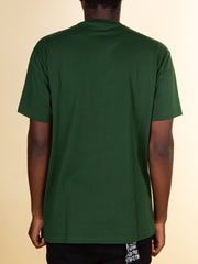 After Hours Clothing Angel Tee in Forest Green