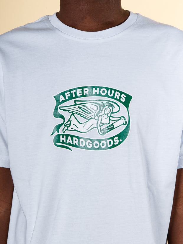 After Hours Clothing Angel Tee in White