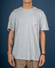 Call On Me Tee - Light Grey