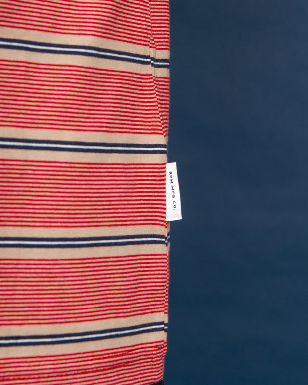 RPM - Stripe Tee - Nautical Stripe