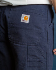 Carhartt - Single Knee Pant - Dark Navy Rinsed