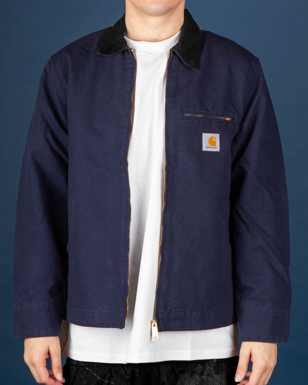 Carhartt - Detroit Jacket - Dark Navy Rinsed