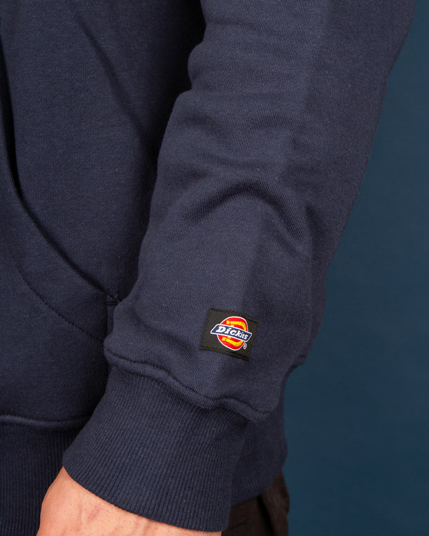 Dickies Pennellville Pop Over Hoody in Deep Blue