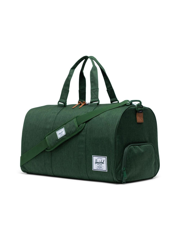 Novel Duffel Bag - Greener Pastures Crosshatch