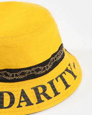Pass~Port - Intersolid Reversible Bucket Hat - Mustard
