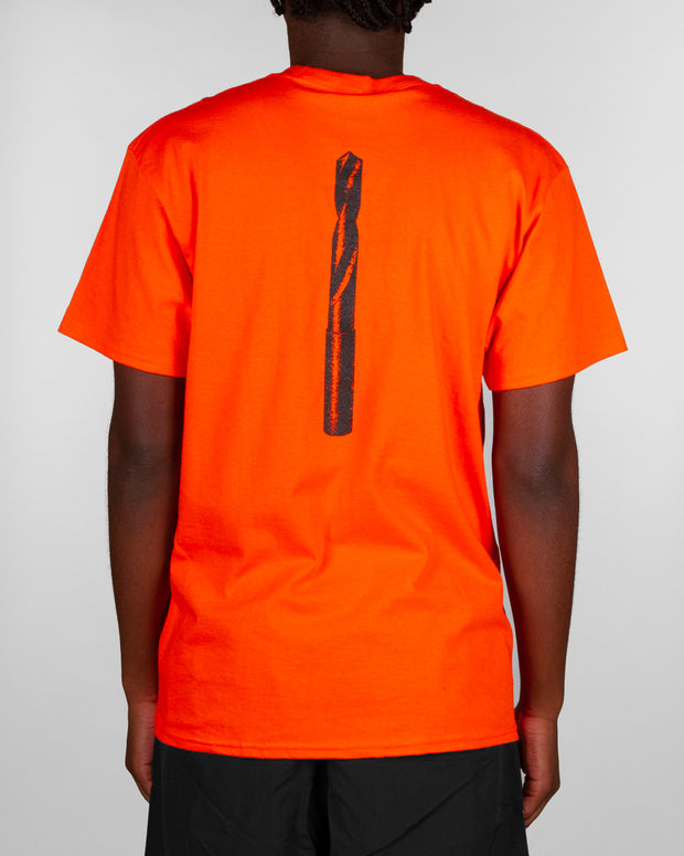 Pass~Port - Drill Bit Tee - Orange