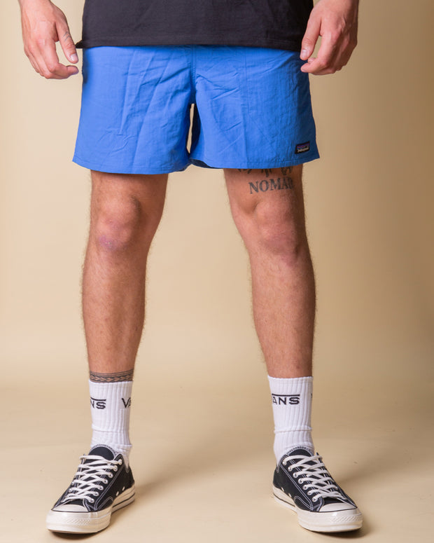 "Patagonia Baggies 5"" Shorts in Bayou Blue"