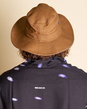The Patagonia M's Forge Hat in Coriander Brown