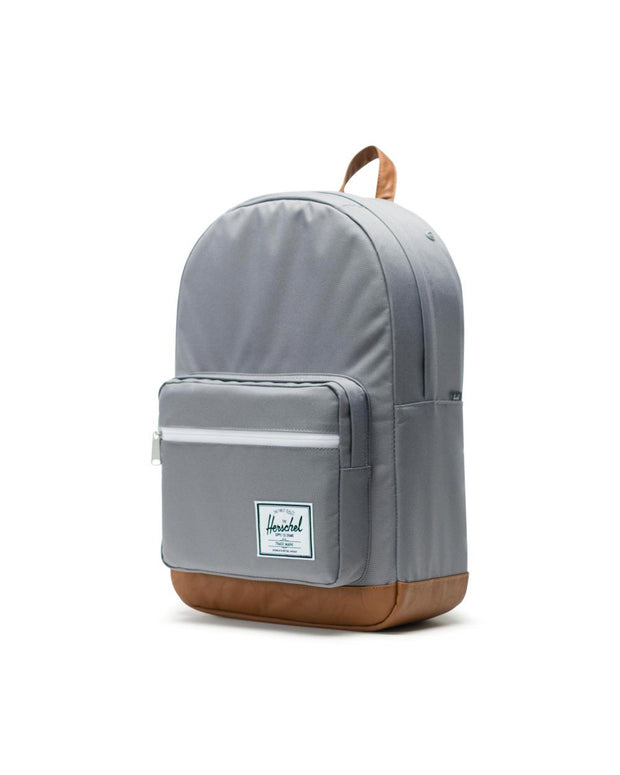Pop Quiz Backpack - Grey / Tan
