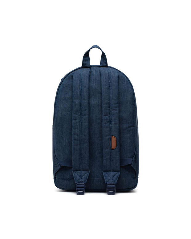 Pop Quiz Backpack - Indigo Denim Crosshatch