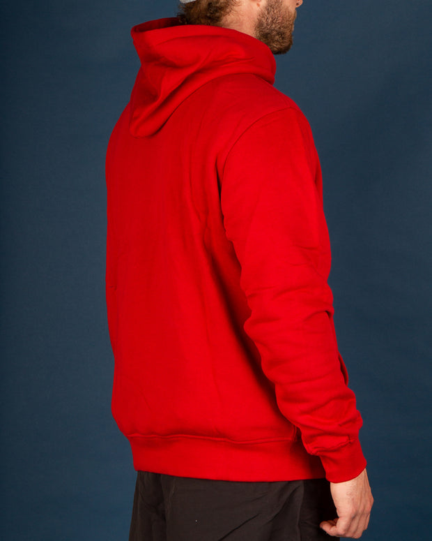 Dickies Pennellville Pop Over Hoody in English Red