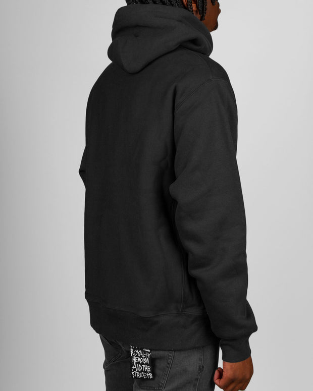 Champion Reverse Weave Hoodie in Black