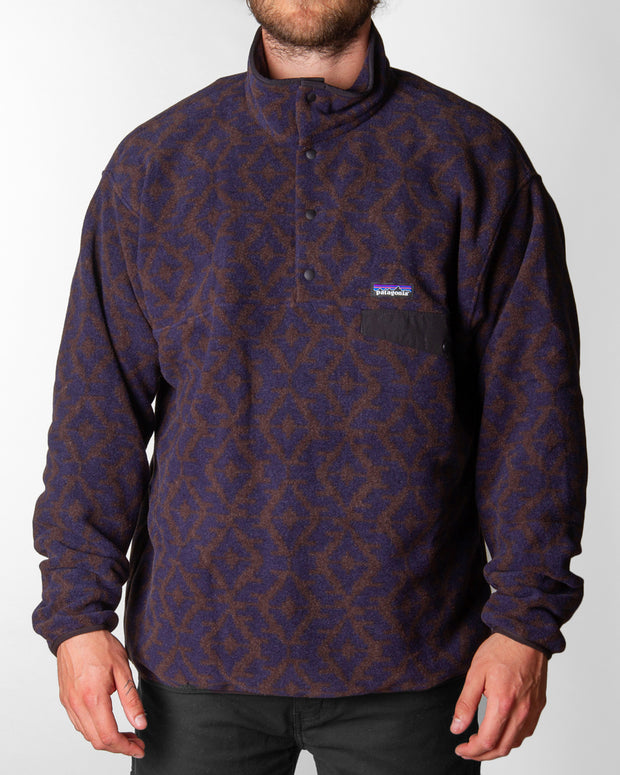 Patagonia - LW Synch Snap-T P/O - Fields Geo / New Navy