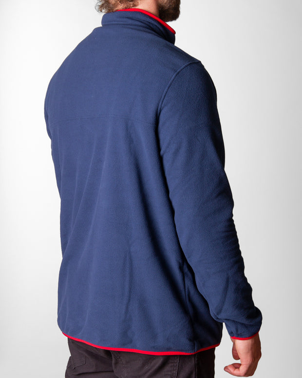 Patagonia - Micro D Snap-T P/O - New Navy / Classic Red