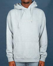 Stussy is back at Fallen Front with some classic hoodie styles. The Stussy Italic Pigment Hood in a muted Pigment Flat Grey. This muted blue/grey is perfect for adding some tone to your wardrobe, constructed from premium 50% recycled cotton and featuring an embroidered italic Stussy logo on the front for detail.