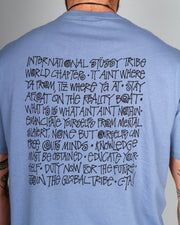 Stussy - Say It Loud Tee - Dusty Blue