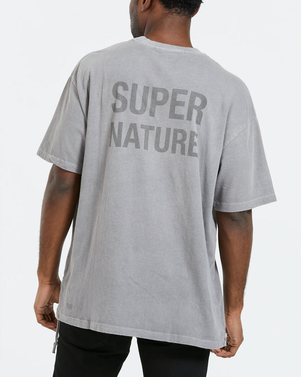 Super Ghost Tee - Faded Grey