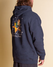 The HUF x Smashing Pumpkins Starlight Pullover Hoodie in Navy
