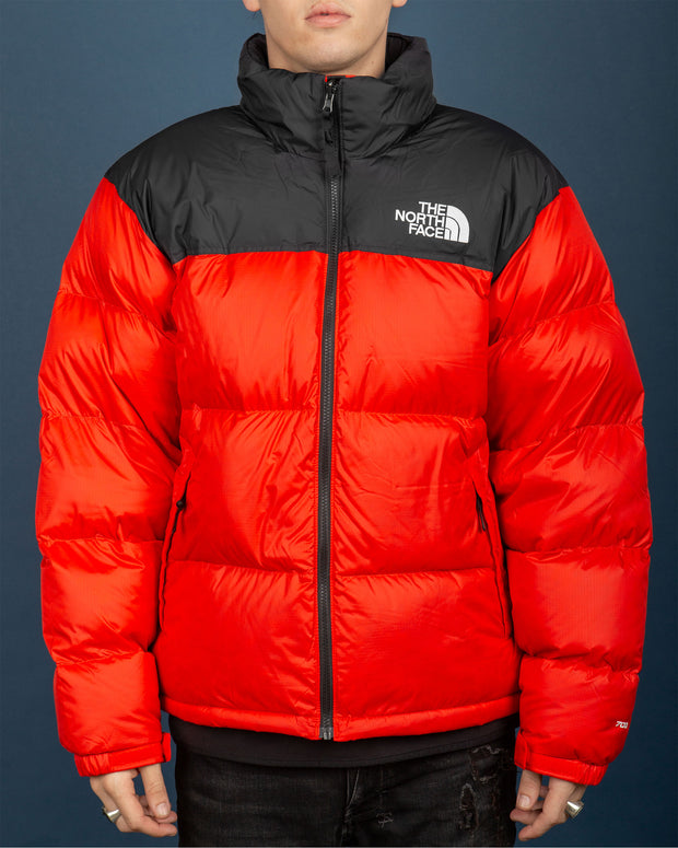 1996 Retro Nuptse Jacket - Fiery Red