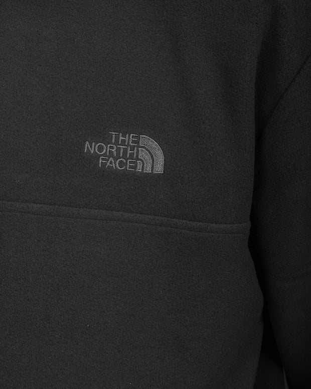 TKA Glacier Fleece Pullover Crew - TNF Black
