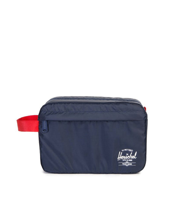 Toiletry Bag - Navy / Red