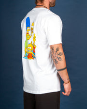 Vans - Vans X The Simpsons Family Tee - White