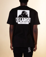 XLARGE - 91 Text Tee - Black