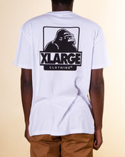 XLARGE - 91 Text Tee - White