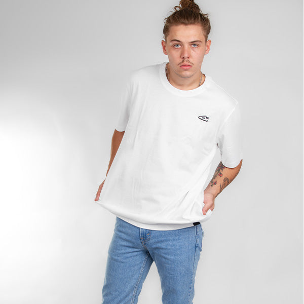 Adidas Originals - SST EMB Tee  - White