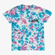 Bed Breakfast Tee - Blue - Pink