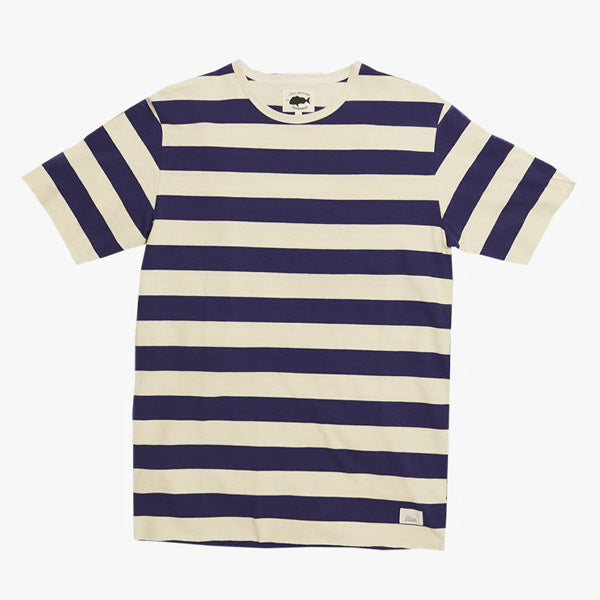 Bold Horizon Tee - Navy Natural