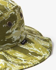 HUF - Fuck It Tiger Camo Boonie Hat - Dusty Olive