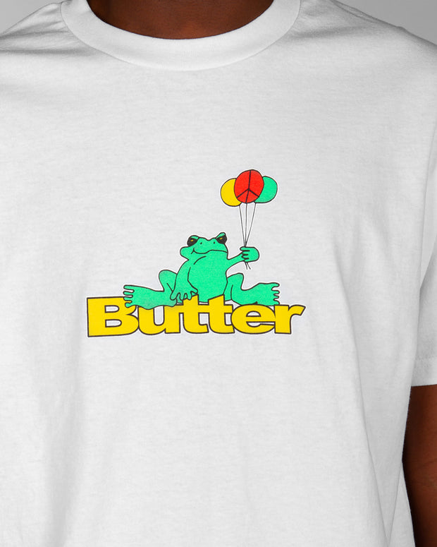 Butter Goods - Frog Logo Tee - White