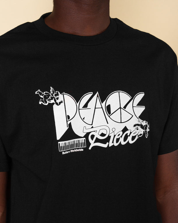 Butter Goods  - Peace Piece Tee - Black