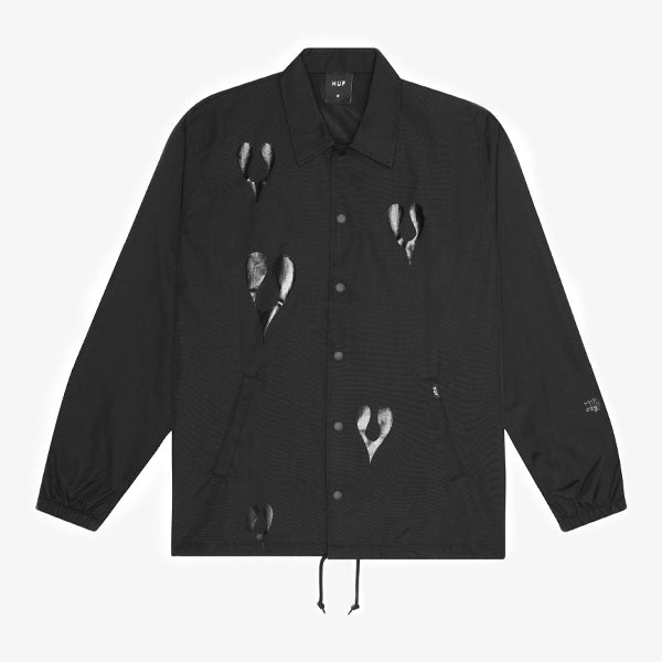 HUF X Phil Frost Coaches Jacket - Black