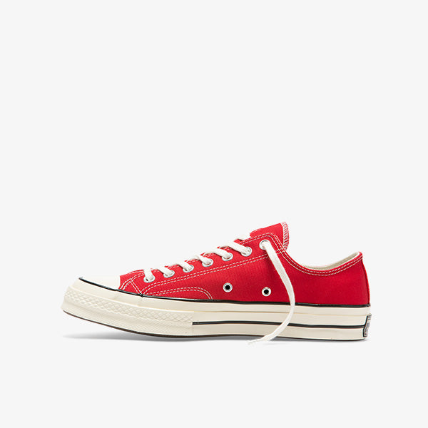 Chuck Taylor 70 Vintage Canvas Low - Enamel Red/Egret/Black