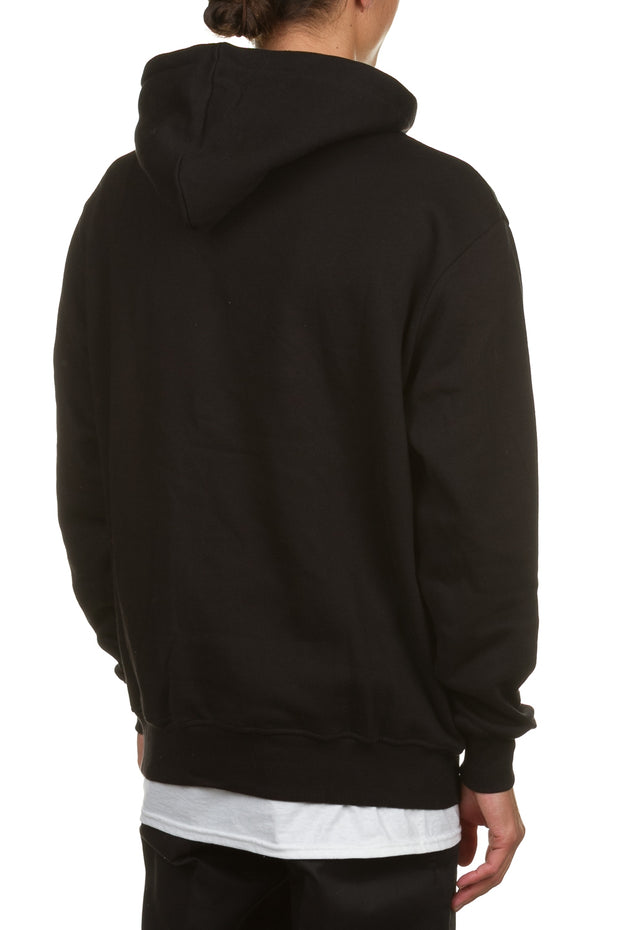 H.S Classic Pop Over Hoody - Black