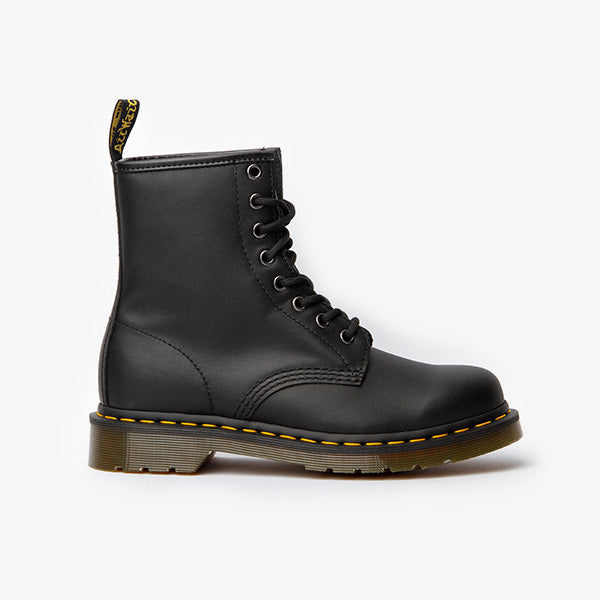 1460 Nappa 8 Eye Boots - Black