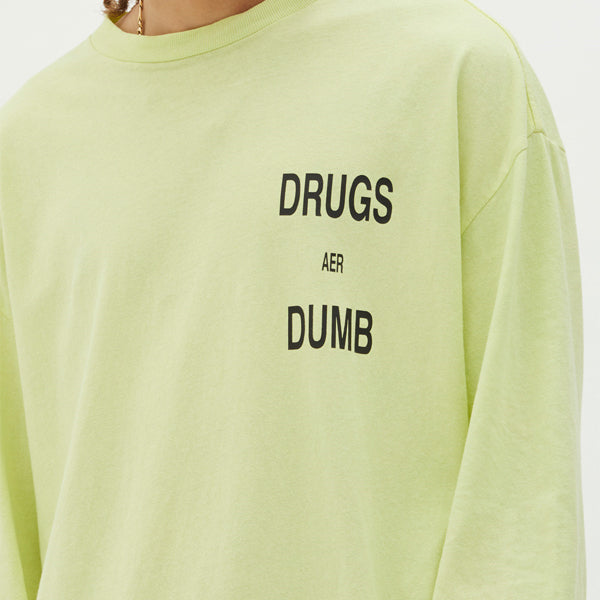Ksubi - Drugs Aer Dumb LS Tee - Acid