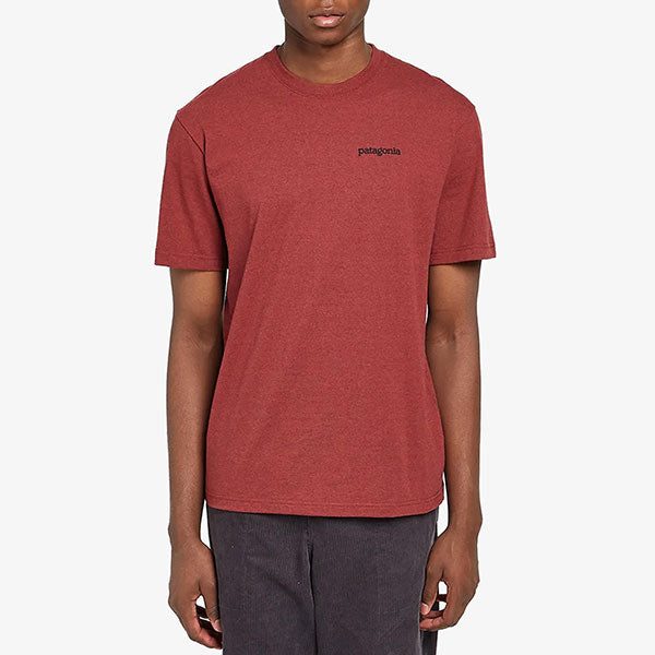 Fitz Roy Horizons Responsibili Tee - Oxide Red