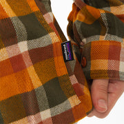 Patagonia - M's L-S Fjord Flannel Shirt - Wren Gold