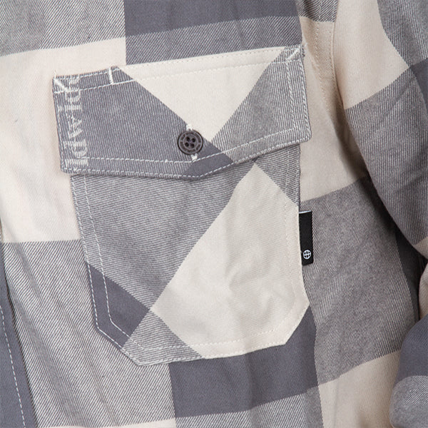 Heights Flannel Shirt  - Grey